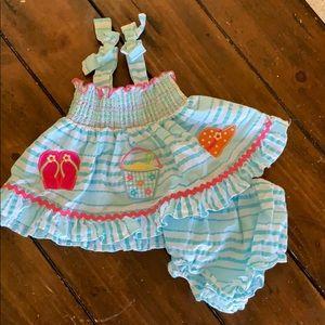 NWOT Summer Dress Set